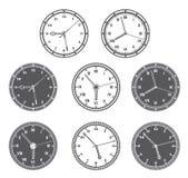 Horas fijadas Imagen de archivo