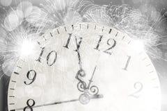 Horas nacaradas antiguas Imágenes de archivo libres de regalías