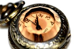 Horas nacaradas antiguas Foto de archivo
