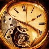 Horas nacreous antigas imagem de stock