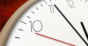 Horas que passa a vista macro Imagens de Stock