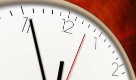 Horas que passa a vista macro Imagem de Stock