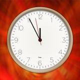 Horas que passa a vista macro Foto de Stock Royalty Free