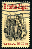 Horatio Alger US Postage Stamp Royalty Free Stock Photography
