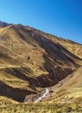 Horcones-Tal in Mendoza-Provinz, Argentinien Lizenzfreie Stockfotografie