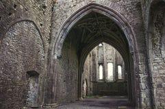 Hore修道院在Cashel,爱尔兰 免版税库存照片