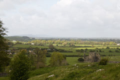 Hore Abbey, as seen from Rock of Cashel Royalty Free Stock Photos