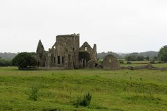 Hore Abbey Cashel Tipperary Ireland. Ruined Cistercian monastery Hore Abbey Cashel Tipperary Ireland Royalty Free Stock Photos