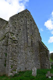 Hore Abbey Outside Wall Standing en las ruinas Fotografía de archivo