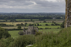 Hore Abbey from the Rock of Cashel Royalty Free Stock Photography