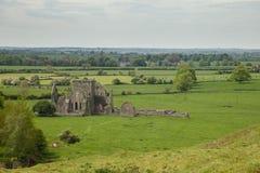 Hore abbotskloster, Cashel, Irland Arkivfoton