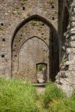 Hore abbotskloster, Cashel, Irland Arkivbild