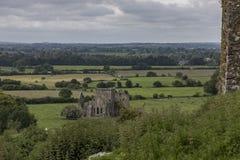 Hore abbotskloster från vagga av Cashel Royaltyfri Fotografi