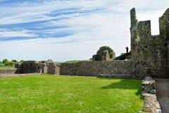 Hore-Abtei, ruiniertes Cistercian Kloster nahe dem Felsen von Cashel, Irland Lizenzfreies Stockbild