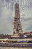 Horea, van Closca en Crisan-Obelisk, Alba Iulia, Roemenië Stock Foto's
