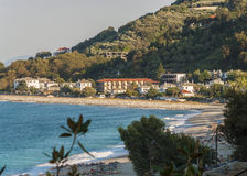 Horefto beach, Pelion region, Greece Royalty Free Stock Photo