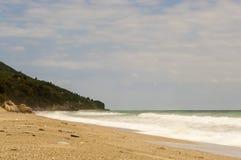 Horefto plaża, Pelion region, Grecja Fotografia Royalty Free