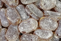 Horehound Hard Candy up Close Stock Photo
