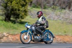 Horex Regina 350 motorcykel 1953 Arkivfoto