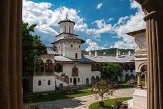 Horezu修道院,罗马尼亚 库存图片