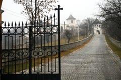 Horezu Monastary. Gate from Valcea, Romania Royalty Free Stock Images