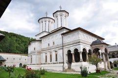 Horezu Monastery. Horezu Ortodox Monastery in Romania, founded in 1690 by Constantin Brancoveanu Royalty Free Stock Photography