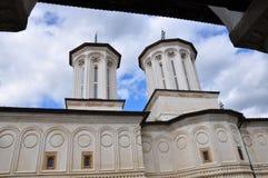 Horezu Monastery. Horezu Ortodox Monastery in Romania, founded in 1690 by Constantin Brancoveanu Royalty Free Stock Photo