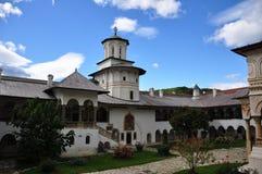 Horezu Monastery. Horezu Ortodox Monastery in Romania, founded in 1690 by Constantin Brancoveanu Stock Photos