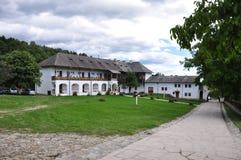 Horezu Monastery. Horezu Ortodox Monastery in Romania, founded in 1690 by Constantin Brancoveanu Royalty Free Stock Images