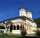 Horezu Monastery - Romania. The Monastery of Horezu was founded in 1690 by Prince Constantin Brâncoveanu. It is considered to be a masterpiece of Brâncovenesc Royalty Free Stock Image