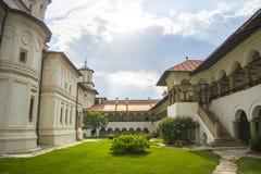 Horezu Monastery stock photo