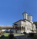 Horezu monastery. In the town of Horezu, Wallachia, Romania Royalty Free Stock Images