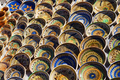 Horezu Traditional pottery Royalty Free Stock Images