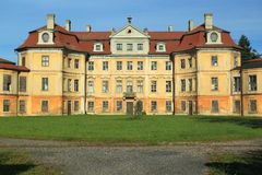 Horin chateau. The rococco chateau Horin in Czech Republic royalty free stock photography