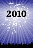 horisont 2010 stock illustrationer