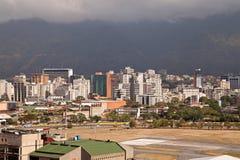 Horisont av Caracas. Venezuela royaltyfri foto