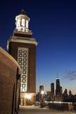 Horisont av Chicago Fotografering för Bildbyråer