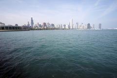 Horisont av Chicago SoC04 royaltyfri fotografi