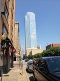 Horisont av Dallas arkivbild
