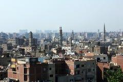 Horisont av gamla cairo Royaltyfri Fotografi