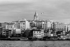 horisont av Istanbul Fotografering för Bildbyråer
