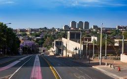 Horisont av Johannesburg Royaltyfria Foton