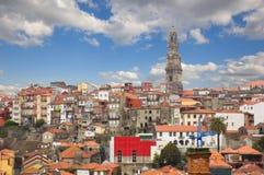 Horisont av Porto, Portugal fotografering för bildbyråer