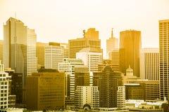 Horisont av San Francisco Fotografering för Bildbyråer