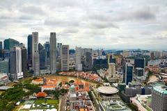Horisont av Singapore Fotografering för Bildbyråer