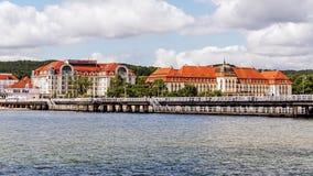 Horisont av Sopot Royaltyfri Fotografi