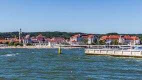 Horisont av Sopot Royaltyfria Bilder