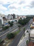 Horisont av staden av Campinas Arkivbilder