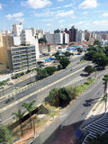 Horisont av staden av Campinas Royaltyfri Bild