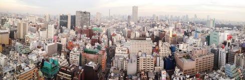 Horisont av Tokyo, Japan Arkivfoto